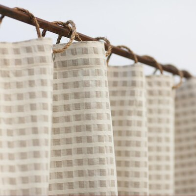 Coyuchi Birch Cotton / Linen Shower Curtain
