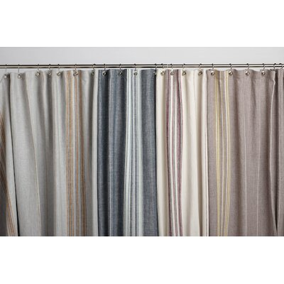 Coyuchi Rustic Linen Shower Curtain