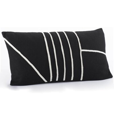 Coyuchi Linear Wool Decorative Pillow