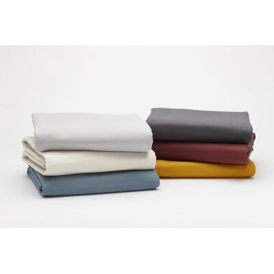 Coyuchi Cloud Brushed Flannel Sheet Set