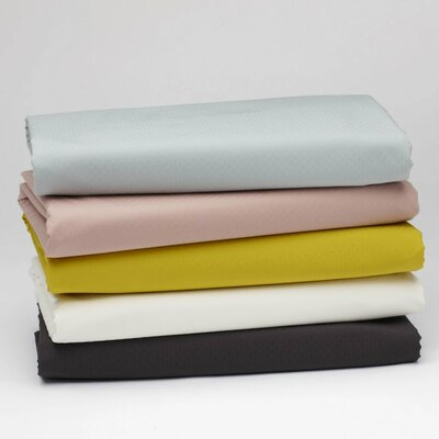 Coyuchi Pointille Fitted Crib Sheet