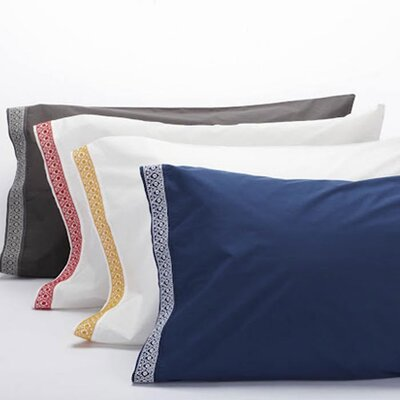 Coyuchi Henna 300 Thread Count Percale Pillowcase (Pair)
