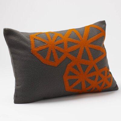 Coyuchi Pinwheel Applique Wool Decorative Pillow