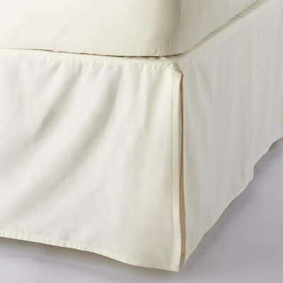 Coyuchi Sateen 300 Thread Count Organic Cotton Bed Skirt