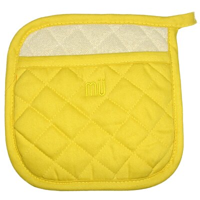 "MU Kitchen MUincotton 9"" Potholder in Chiffon"