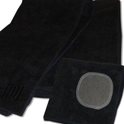 MU Kitchen MUmodern Dishcloth and Dishtowel Set in Onyx