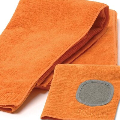 MU Kitchen MUmodern Dishcloth and Dishtowel Set in Orange