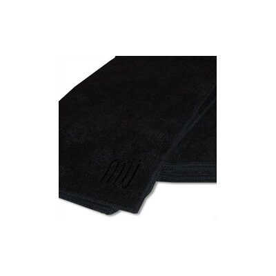 "MU Kitchen MUmodern 24"" Dishtowel in Onyx (Set of 2)"