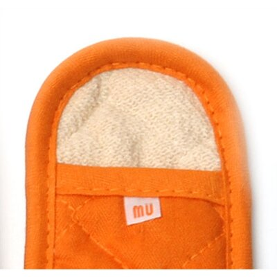 "MU Kitchen MUincotton 7"" Handleslip in Orange"