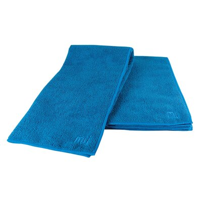 MU Kitchen MUmodern Dish Cloth and Towel in Indigo (Set of 2)