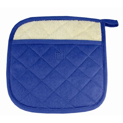 MU Kitchen MUincotton Potholder in Indigo