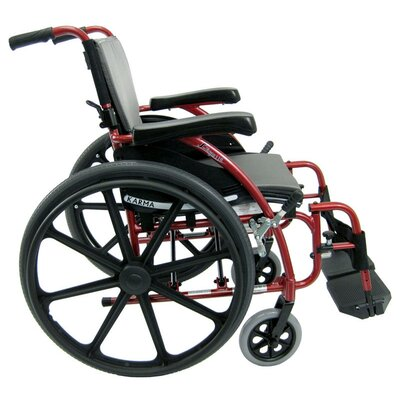Karman Healthcare S-115MG Ergonomic Lightweight Wheelchair With Mag Wheels