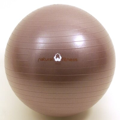 Natural Fitness Burst Resistant Exercise Ball in Plum