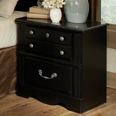 Standard Furniture Madera 3 Drawer Nightstand