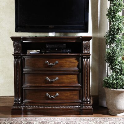Churchill 3 Drawer Media Chest