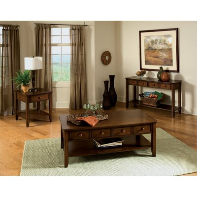 Hialeah Court Coffee Table Set