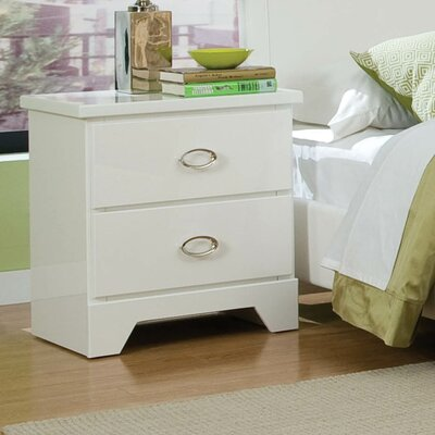 Standard Furniture Meridian 2 Drawer Nightstand