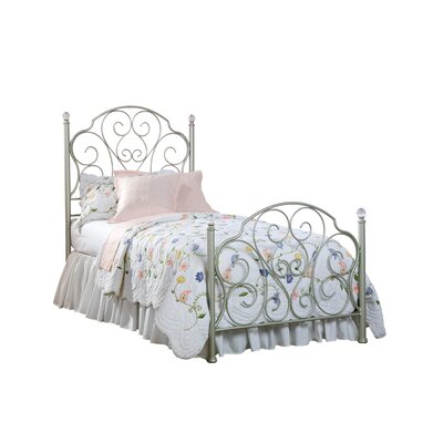 spring rose wrought iron bedroom collection wayfair. Black Bedroom Furniture Sets. Home Design Ideas