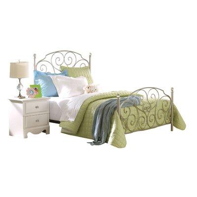 Standard Furniture Spring Rose Metal Bed