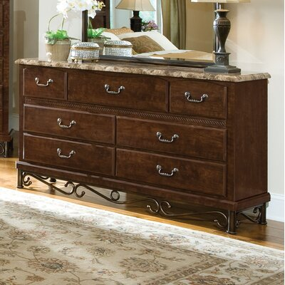 Standard Furniture Santa Cruz 7 Drawer Dresser