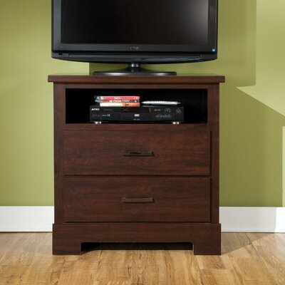 Standard Furniture Marshall Merlot 2 Drawer Media Chest