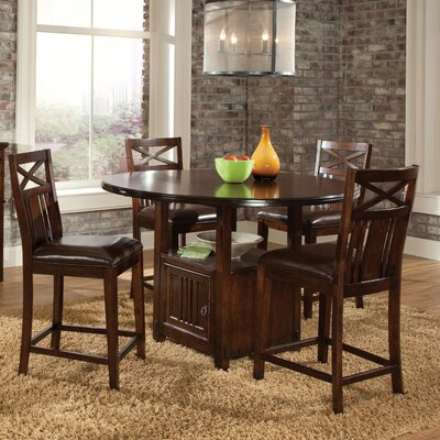 Standard Furniture Sonoma 5 Piece Counter Height Dining Set