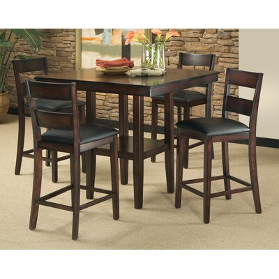 Standard Furniture Pendelton 5 Piece Counter Height Dining Set