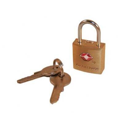 Austin House TSA Mini Locks with Keys (Set of 3)