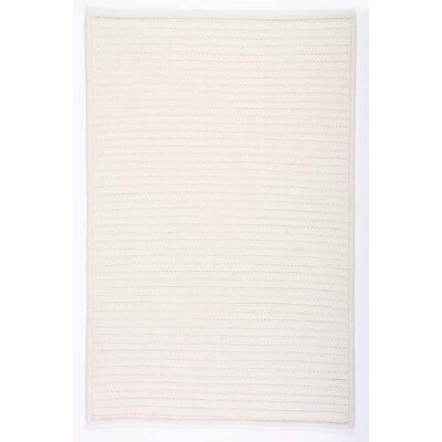 Colonial Mills Simply Home Solids White Rug