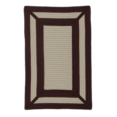 Colonial Mills Simply Home Frame It Chocolate Rug