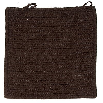 Colonial Mills Courtyard Square Braided Chair Pad