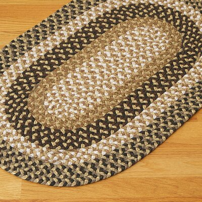 Fabric Multi Dark Rug