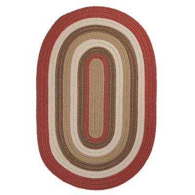 Colonial Mills Brooklyn Terracotta Braided Rug