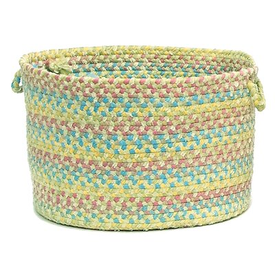 Botanical Isle Braided Utility Basket