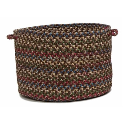 Colonial Mills Midnight Braided Utility Basket