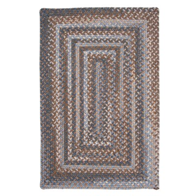 Gloucester Graphite Braided Rug