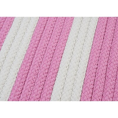 Colonial Mills Stripe It Bold Pink Sample Swatch