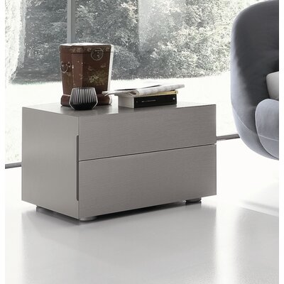 Rossetto USA Sound Open Pore 2 Drawer Nightstand