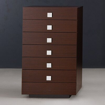 Rossetto USA Win with Metal Handle 6 Drawer Chest