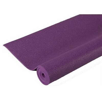 Extra Thick Pilates Yoga Mat in Purple