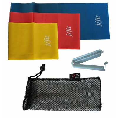 J Fit Exercise Bands (Set of 3)