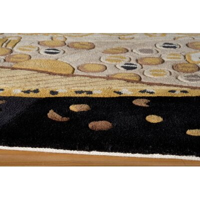 Momeni New Wave Black Rug