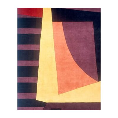 Momeni New Wave Plum Rug