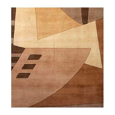 Momeni New Wave Light Brown Rug