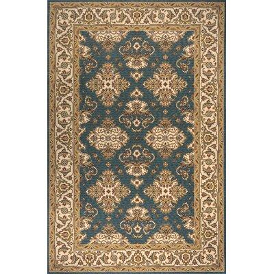 Persian Garden Teal Blue Rug