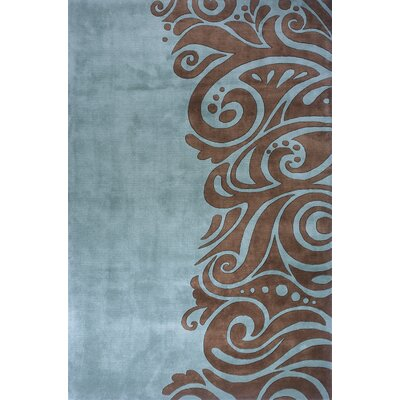 New Wave Turquoise Rug