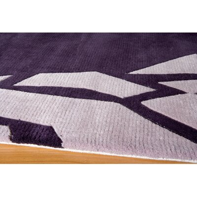 Momeni New Wave Purple Rug
