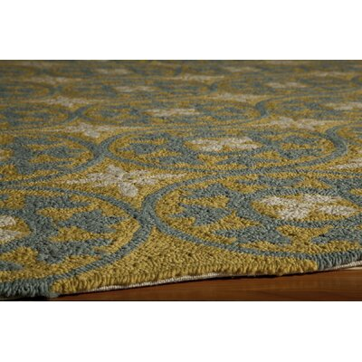 Momeni Veranda Yellow/Blue Rug