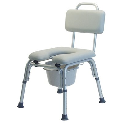 Lumex Platinum Collection Padded Commode Bath Seat with Optional Arms