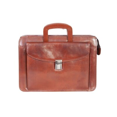Scully Mini Leather Briefcase